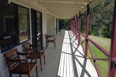 Front Verandah - Retreat Centre